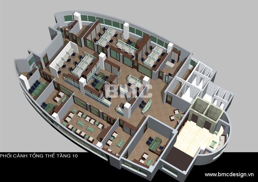 Nội thất văn phòng PVFC_09