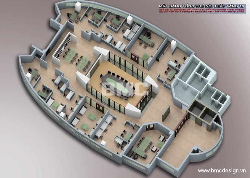 Nội thất văn phòng PVFC_11
